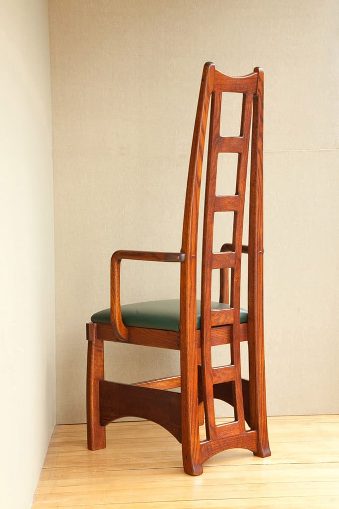 Ladderback Chair designed by Peter Maynard
