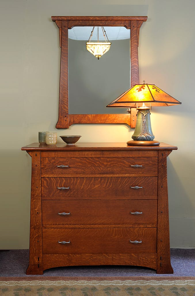 Catlin Dresser and Mirror
